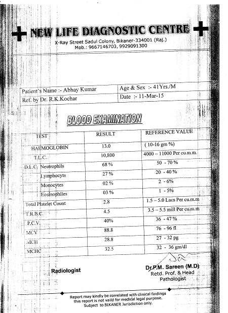 ABHAY-KUMAR-KAURA-40yrs-Echotexture-of-liver-parenchyma-increased-Fatty-Infiltration-In-Liver-patient-treatment-report-7