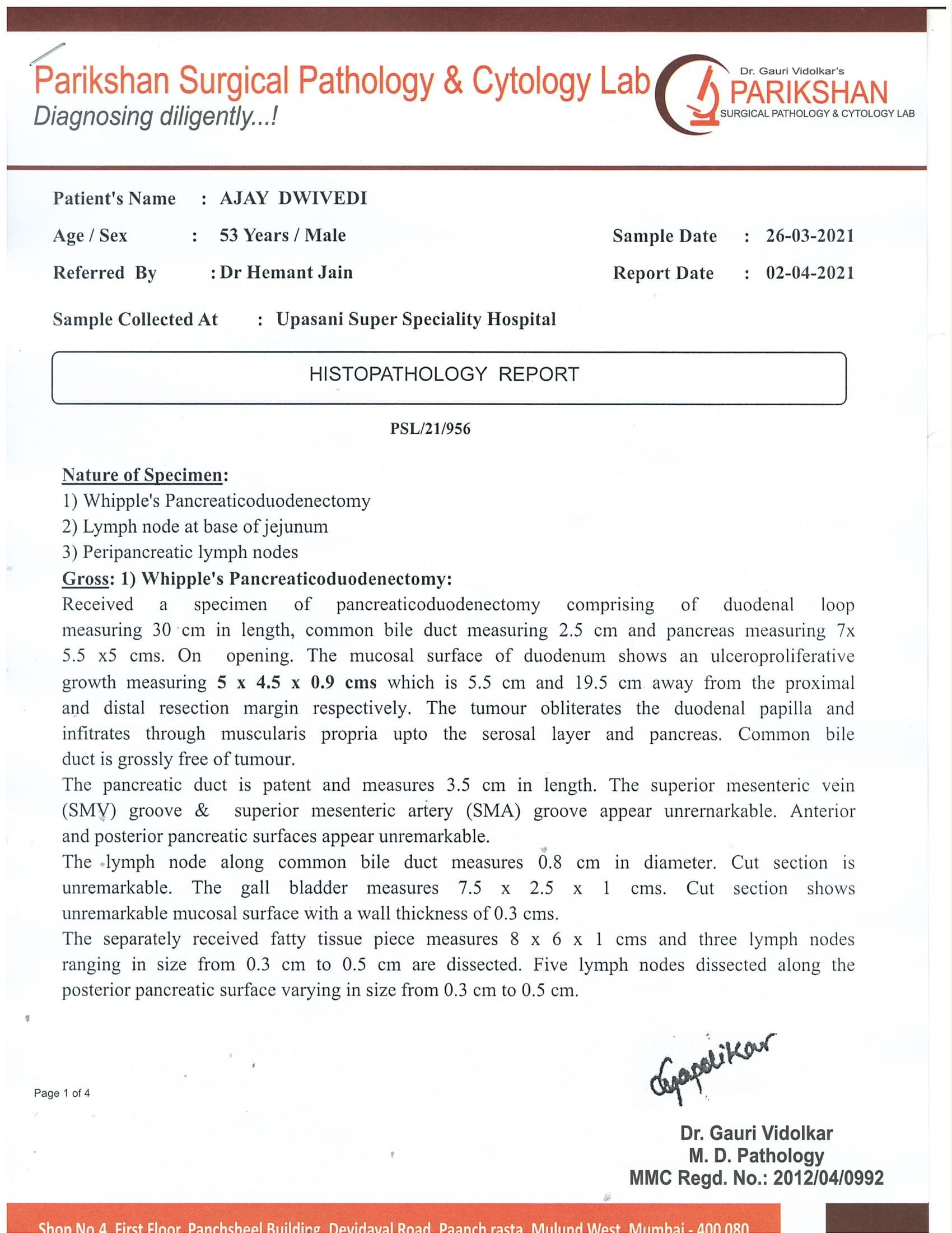 Ajay-Diwedi-Pancreatic-cancer-patient-treatment-003