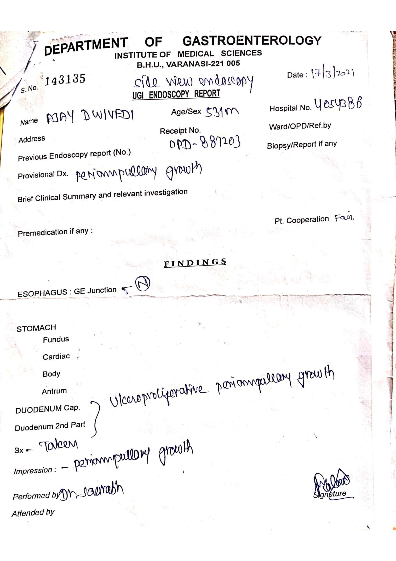 Ajay-Diwedi-Pancreatic-cancer-patient-treatment-024