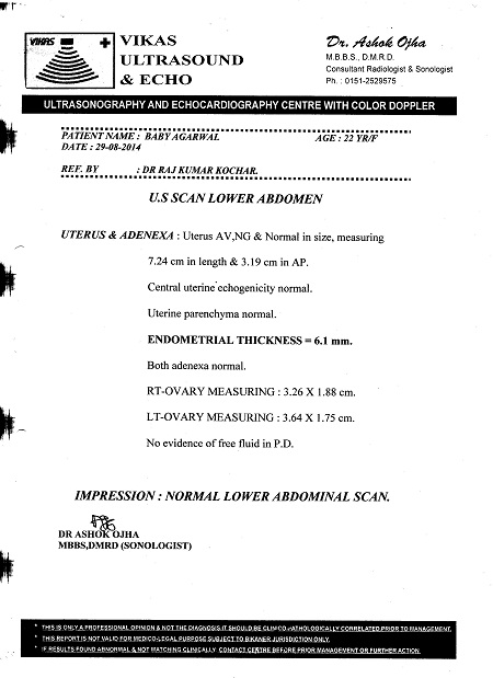 BABY-AGARWAL-21Yrs-Bicornuate-uterus-patient-treatment-report-8
