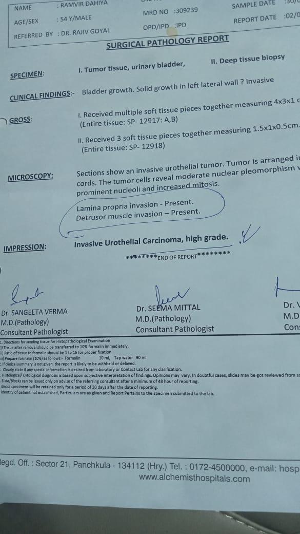 Ramveer-singh-Dahiya-Urinary-bladder-cancer-patient-treatment-002