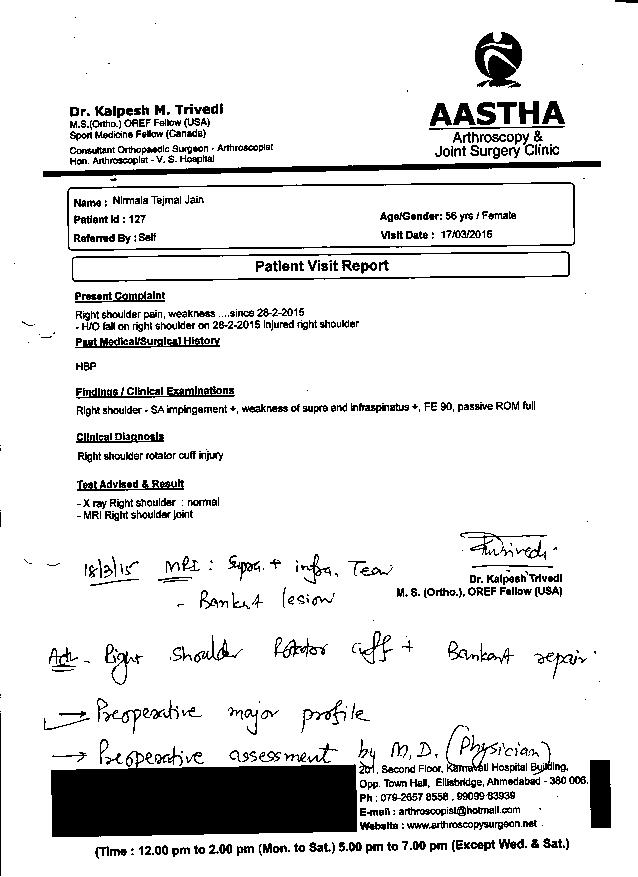 NIRMALA-JAIN-57-Years-Injury-Fracture-Treatment-reports-3