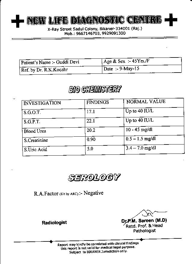 GUDDI-DEVI-45yrs-Leucoria-Acute-patient-treatment-report-2