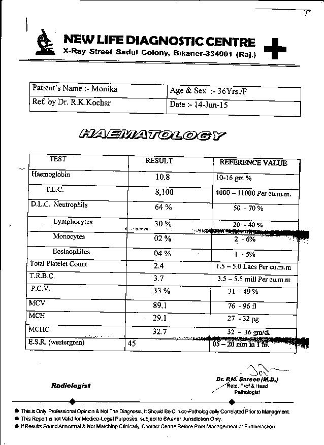 MONIKA-36yrs-Leucoria-And-Obesity-patient-treatement-reports-3