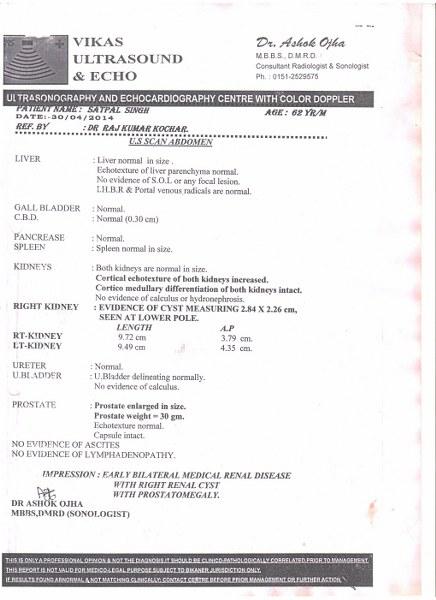 SATPAL-SINGH-62Yrs-RENAL-FAILURE-PKD-Treatment-3