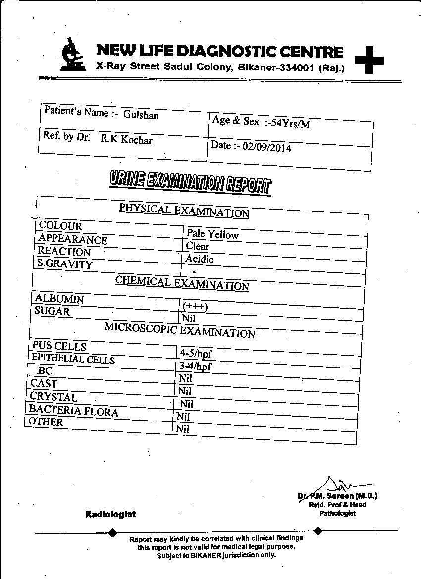 GULSHAN-KUMAR-54-Years-KIDNEY-FAILURE-patient-treatment-report-2
