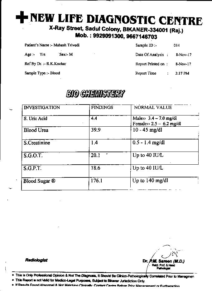 Mahesh-Trivedi-61Yrs-Urinary-Bladder-Carcinoma-PKD-Patient-Report-10