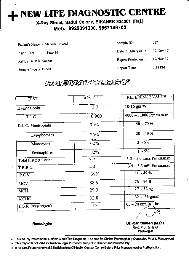 Mahesh-Trivedi-61Yrs-Urinary-Bladder-Carcinoma-PKD-Patient-Report-5