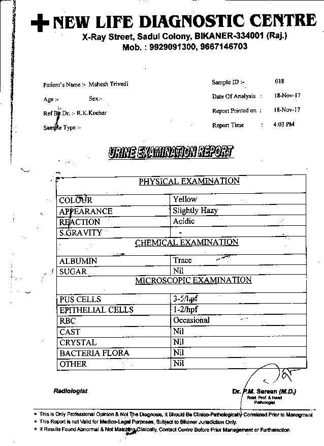 Mahesh-Trivedi-61Yrs-Urinary-Bladder-Carcinoma-PKD-Patient-Report-1