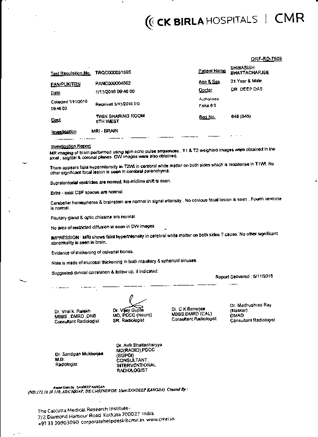 Shivasish-Bhattacharjee-21yrs-CKD-CRF-Treatment-18
