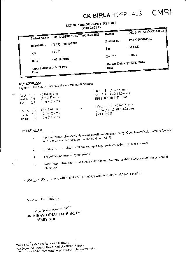 Shivasish-Bhattacharjee-21yrs-CKD-CRF-Treatment-13
