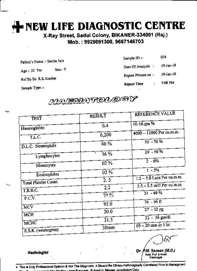 Sunita-Jain-32yrs-CKD-CRF-Kidney-Failure-Treatment-8