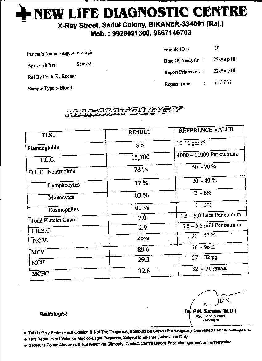 Rajendra-singh-28yrs-CKD-KIDNEY-Patient-Treatment-5