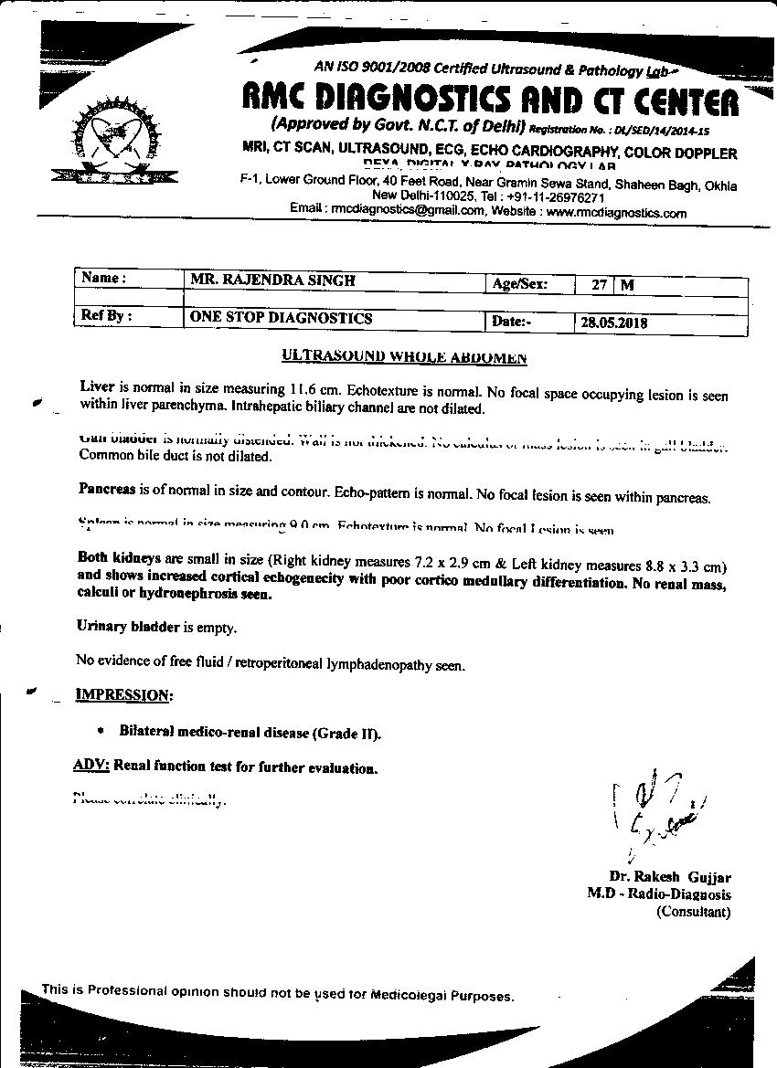 Rajendra-singh-28yrs-CKD-KIDNEY-Patient-Treatment-16
